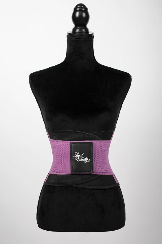 London - Sports Belt with Extra Waistband - Lavender Lilac - XL