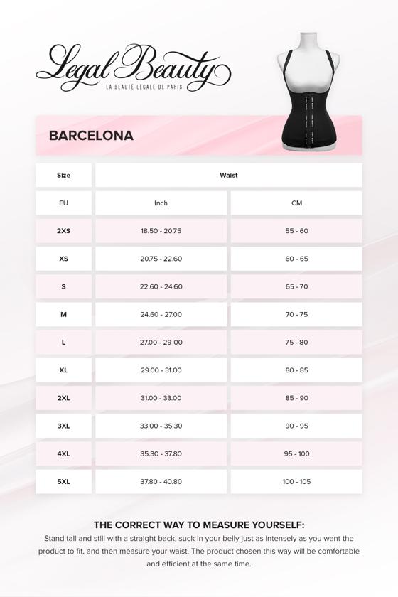 Barcelona - Zipper Neoprene Waist Trainer Vest - Jet black - XXS