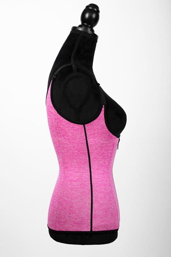 Helsinki - Sauna vest - Bubblegum pink - XXS