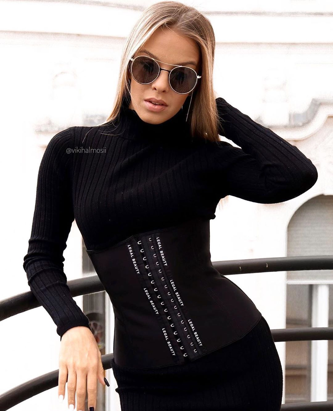 Paris - Waist Trainer - Jet black - XXS