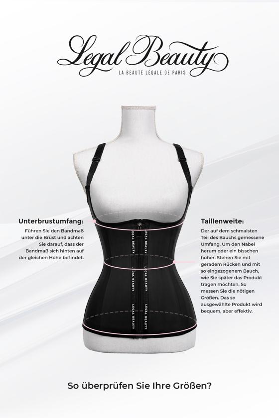 London - Waist Trainer Sportgürtel mit extra Taillengürtel - Neon Pink - L