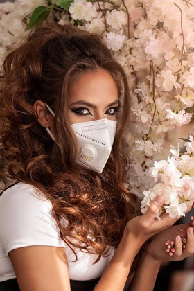 Legal Beauty KN95/FFP2 7 rétegű maszk - szelepes - fehér