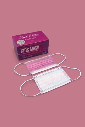 Legal Beauty 4 rétegű egészségügyi arcmaszk - 50 db - Arcmaszk - 50 db - Pink - Gyermek