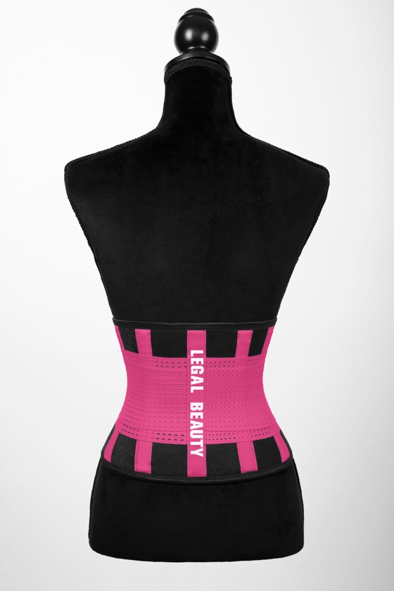 London - Sports Belt with Extra Waistband - Barby pink - S