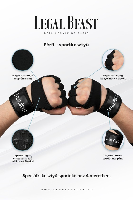 Legal Beast FÉRFI Sport csomag #1