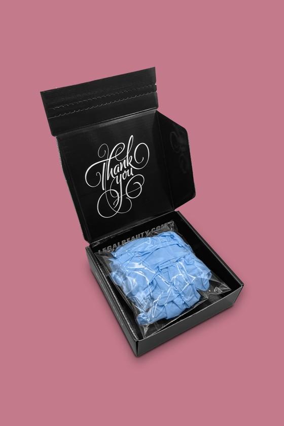 Legal Beauty Nitril kesztyű - Nitril kesztyű - Kék - S