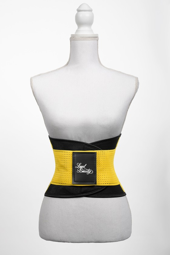 London - Sports Belt with Extra Waistband - Bumblebee yellow - L