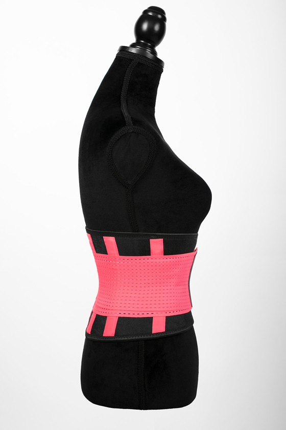 London - Sports Belt with Extra Waistband - Neon pink - L
