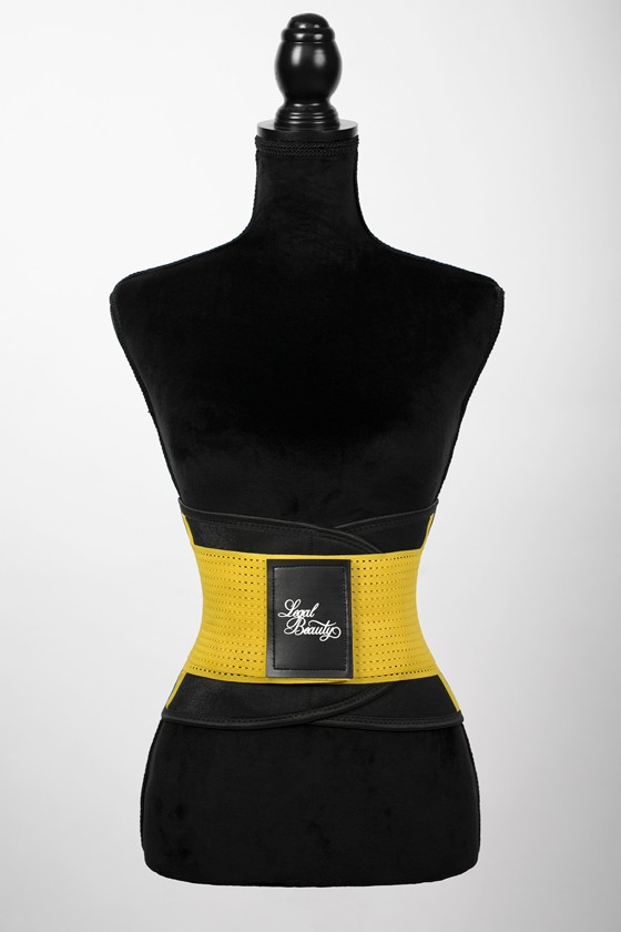 London - Sports Belt with Extra Waistband - Bumblebee yellow - S