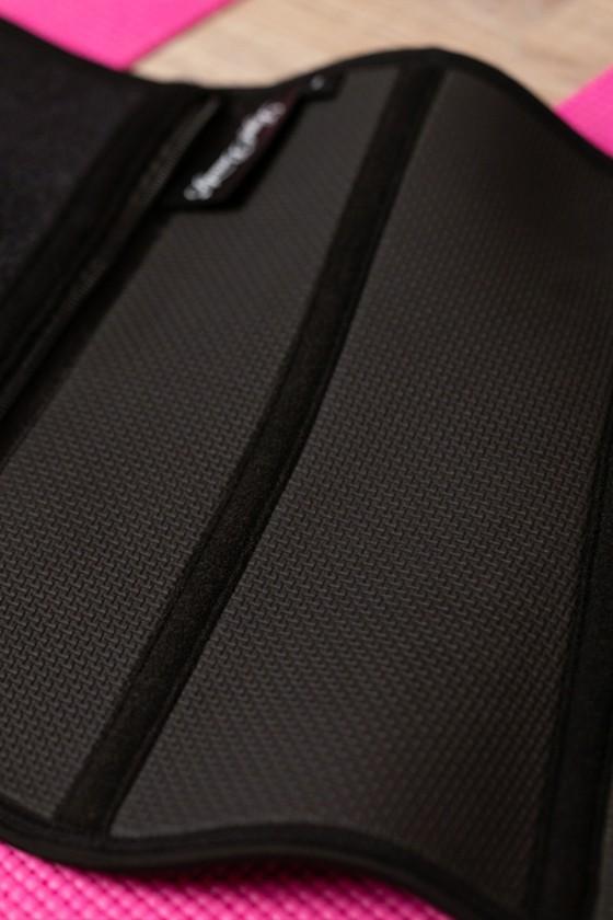 Miami - Cipzáras sport-szaunaöv extra derékpánttal - Jet black - S
