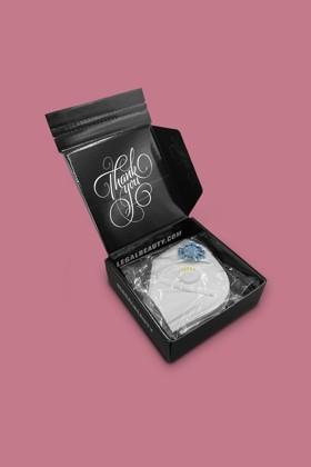 Legal Beauty KN95/FFP2 7 rétegű arcmaszk - Legal Beauty Arcmaszk - 5 db - Fehér - Szelepes