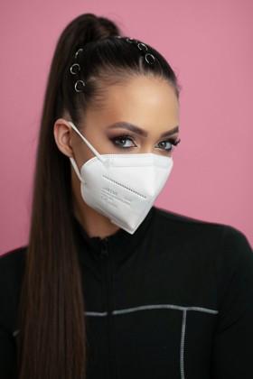 Legal Beauty FFP3 7-rétegű maszk (CE 0370) - Fehér - Szelep nélküli