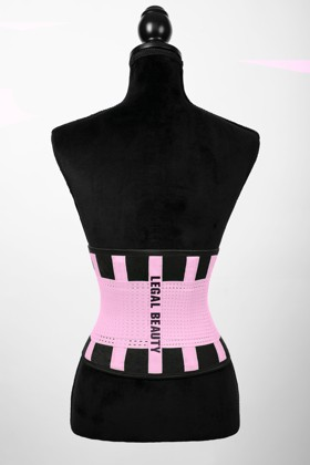 London - Sports Belt with Extra Waistband - Bubblegum pink - XS