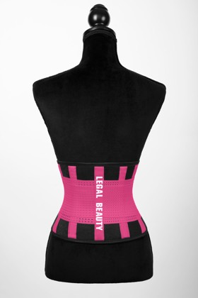 London - Sports Belt with Extra Waistband - Barby pink - XS